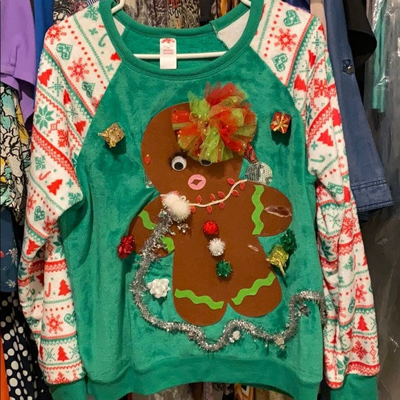 Sweaters - Ugly sweater hand made